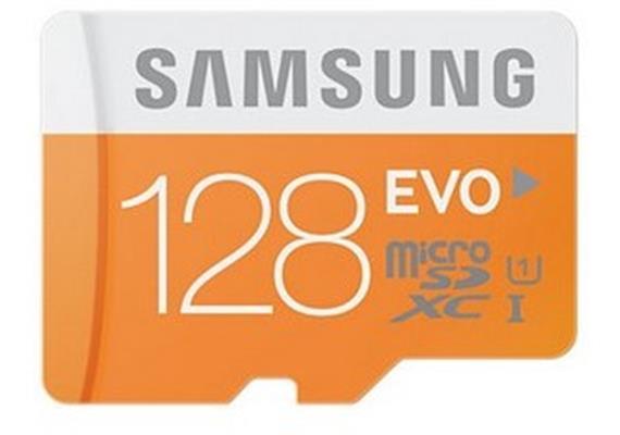 Samsung EVO microSDXC mit Adapter (128GB) MB-MP128DA
