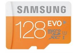 Samsung EVO microSDXC mit Adapter (128GB) MB-MP128DA