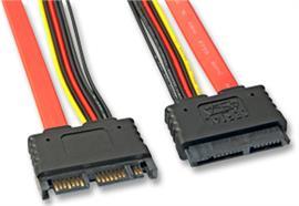 SATA Kabel Micro 7+7+2 intern 0.5m 33637