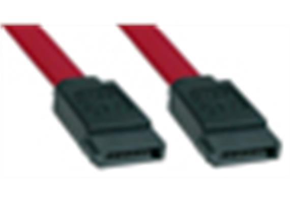 Seriell ATA 150 Kabel 0.5m 7 Pin M/M int. 33370