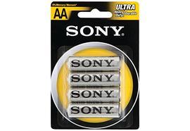 Sony 4er-Pack AA/R6 Batterien SUM3NUB4A
