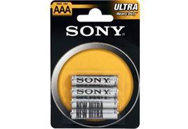 Sony 4er-Pack AAA/R03 Batterien R03NUB4A