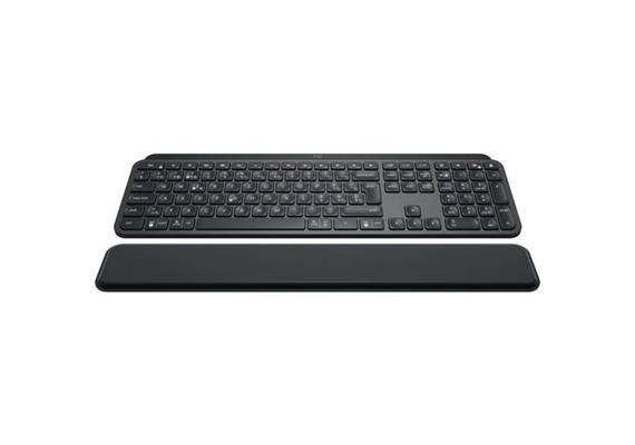 Tastatur Logitech MX Keys+ inkl. Handballenauflage