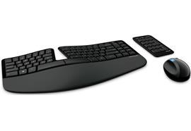 Tastatur Microsoft Sculpt Ergonomic Desktop