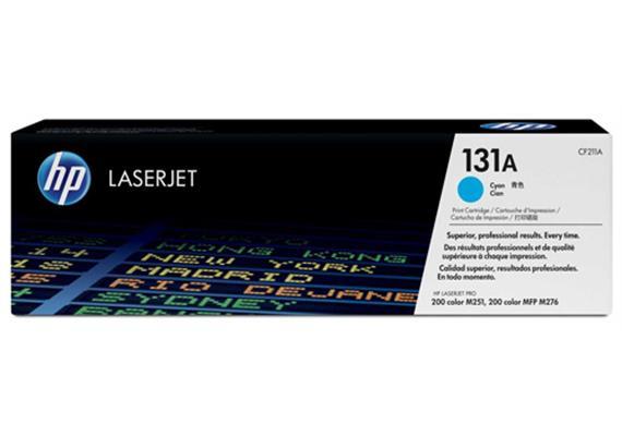 Toner HP 131A Color LJ cyan ca. 1800S. CF211A