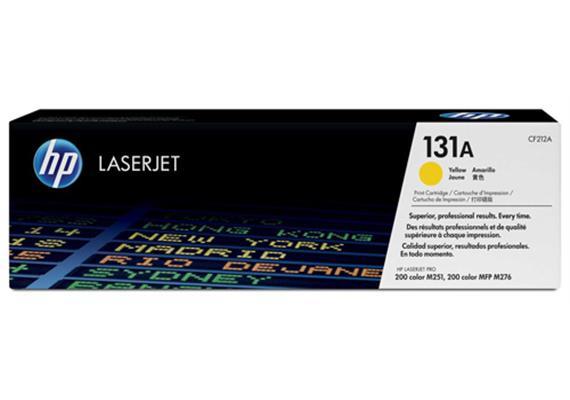 Toner HP 131A Color LJ yellow ca. 1800S. CF212A