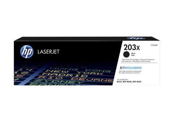 Toner HP 203X Black ca.3200 Seiten CF540X