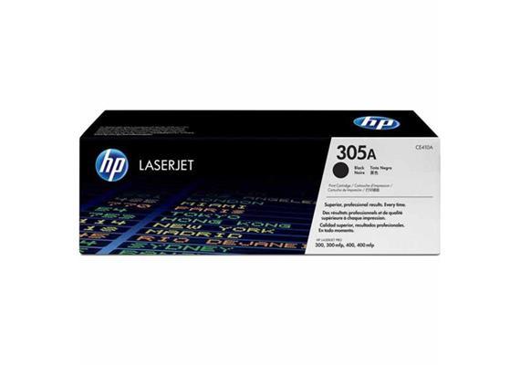 Toner HP 305A Color LJ black 2200S. CE410A