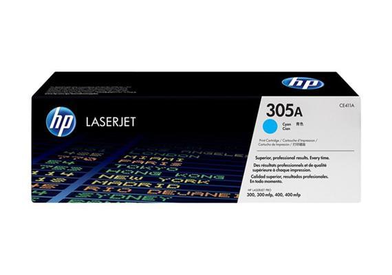 Toner HP 305A Color LJ cyan 2600S. CE411A