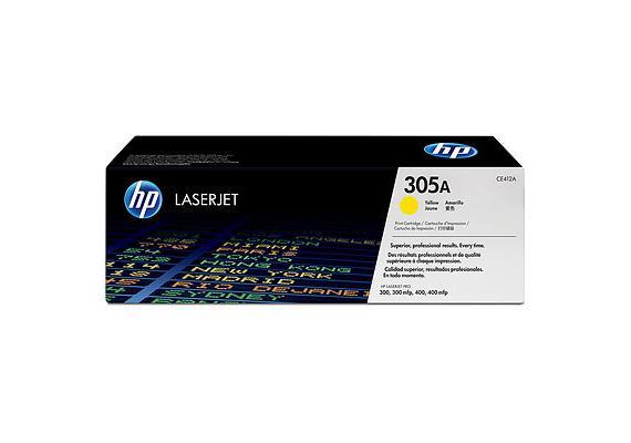 Toner HP 305A Color LJ yellow 2600S. CE412A