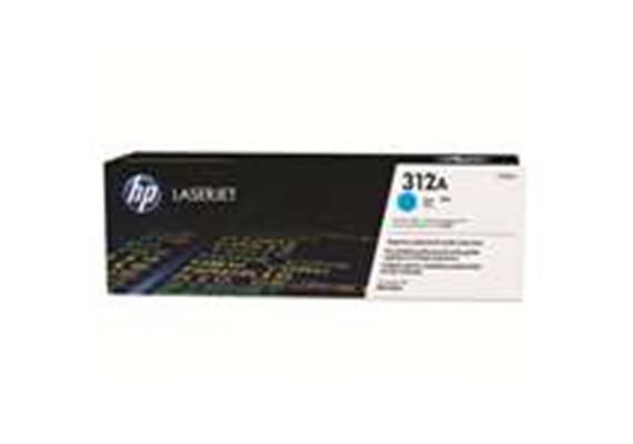 Toner HP 312A Cyan ca. 2'700S. CF381A