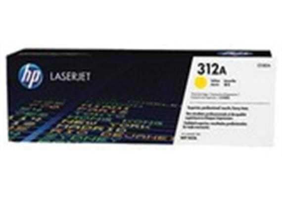 Toner HP 312A Yellow ca. 2'700S. CF382A