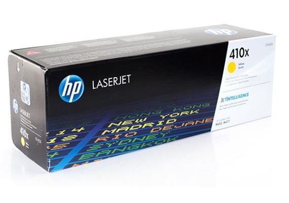 Toner HP 410X gelb ca. 5000 Seiten CF412X