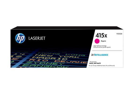 Toner HP 415X Magenta ca. 6'000 Seiten