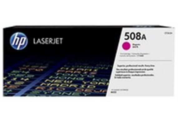 Toner HP 508A Magenta ca. 5'000S. CF363A