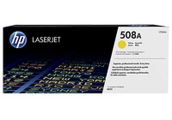 Toner HP 508A Yellow ca. 5'000S. CF362A