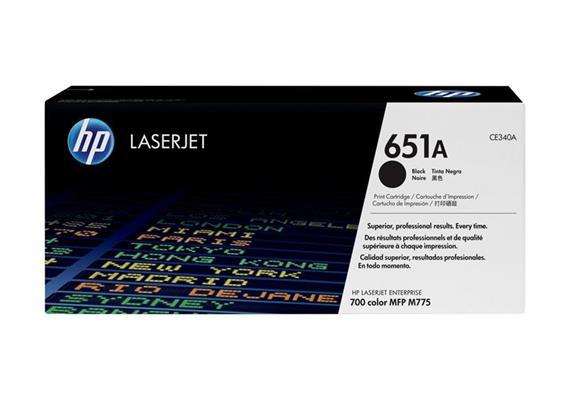 Toner HP 651A Black ca. 13'500 Seiten