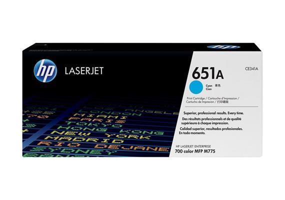 Toner HP 651A Cyan ca. 16'000 Seiten