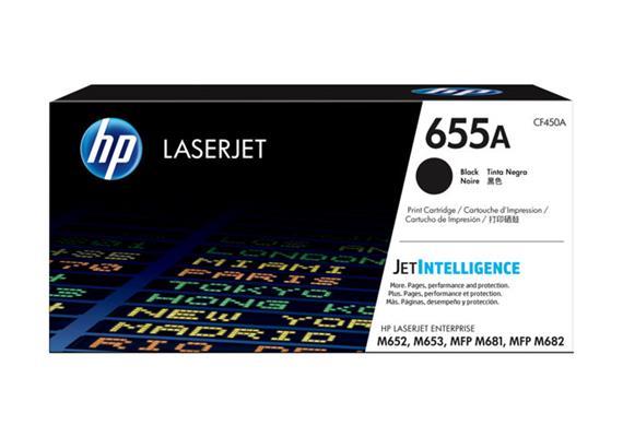 Toner HP 655A Schwarz 12'500 Seiten CF450A