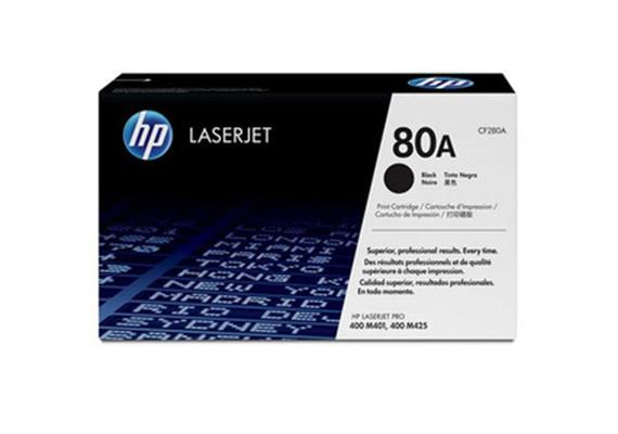 Toner HP 80A sw ca. 2700 Seiten CF280A