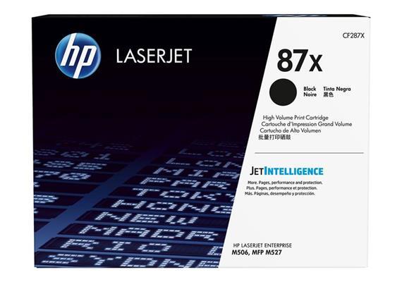 Toner HP 87X Black ca. 18'000 Seiten