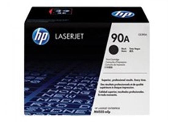 Toner HP 90A schwarz ca. 10.000 Seiten CE390A
