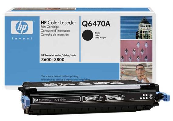 Toner HP Cartr. CLJ 3x sw ca. 6000S. Q6470A