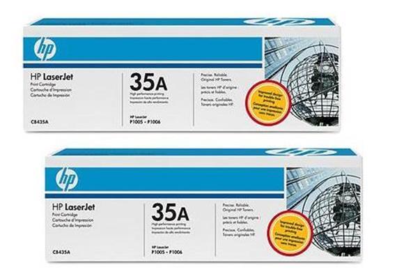 Toner HP Cartr. LJ 1006 sw ca. 1500S. CB435AD