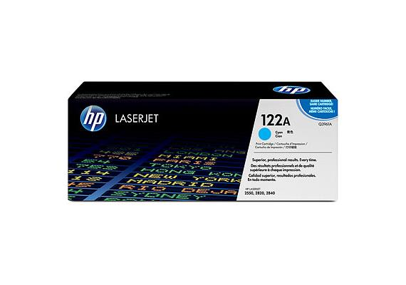 Toner HP Cartr. LJ 2550 cyan ca. 4000S. Q3961A