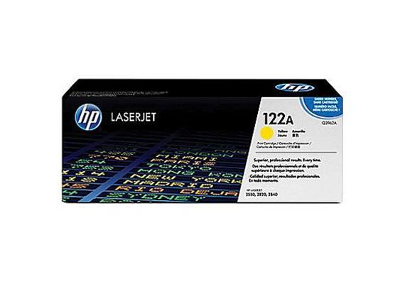 Toner HP Cartr. LJ 2550 yel ca. 4000S. Q3962A