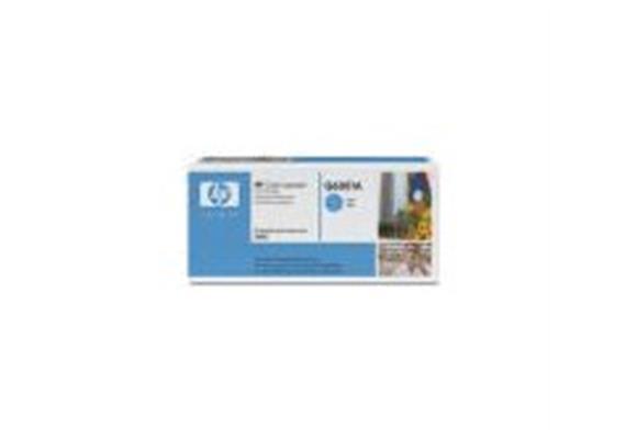 Toner HP Cartr. LJ col. cyan ca. 2500S. Q6001A