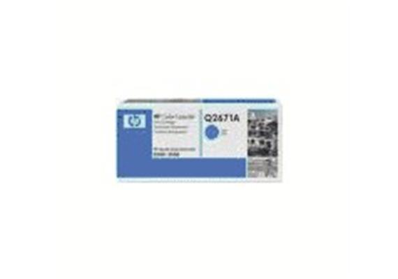 Toner HP Cartr. LJ col. cyan ca. 4000S. Q2671A