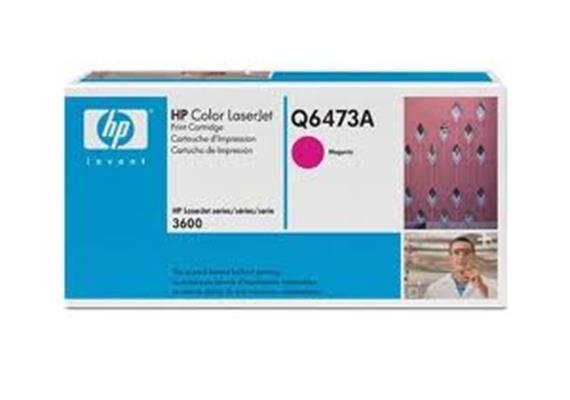Toner HP Cartr. LJ col. mag ca. 4'000S. Q6473A