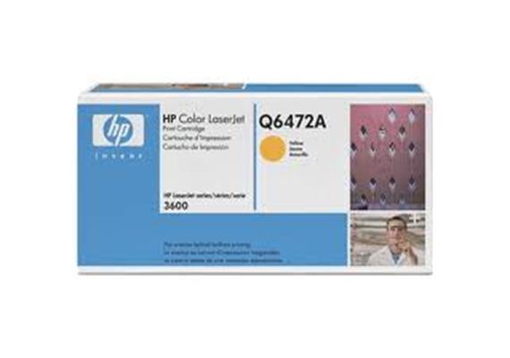 Toner HP Cartr. LJ col. yel ca. 4'000S. Q6472A
