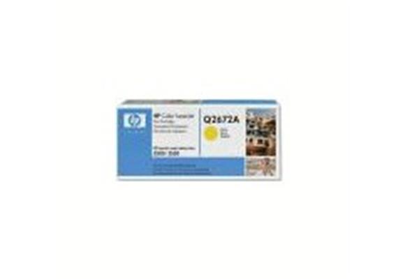 Toner HP Cartr. LJ col. yel ca. 4000S. Q2672A