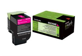 Toner Lexmark Magenta 4'000 Seiten 80C2XME