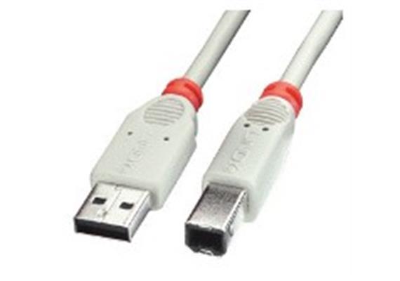 USB Kab. 0.5m Typ A->B M/M grau 31643